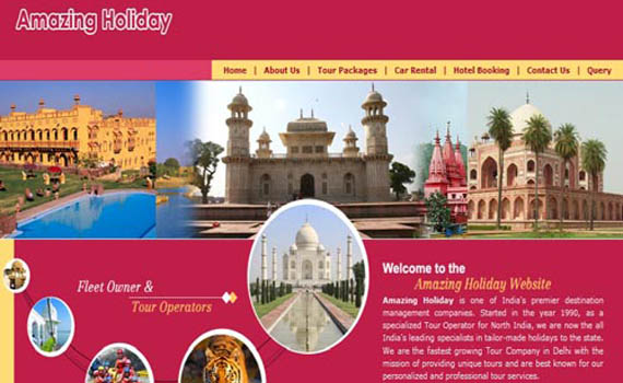 Travel Agency Website Solutions