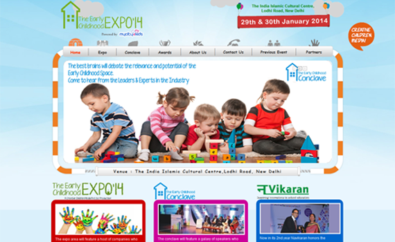Website Design for Expo Company