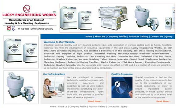 Washing machine Manufacturers Web solutions
