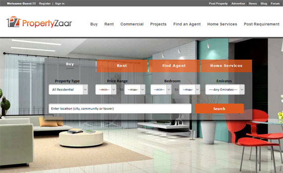 Propertyzaar Real estate Portal