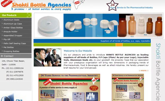 Shakti Bottle Website De...