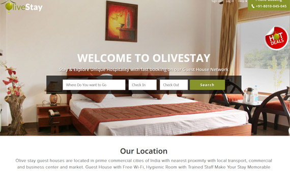 Online Guest House Booking System