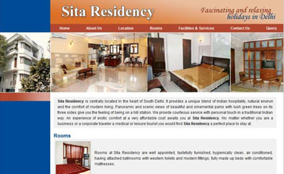 Guest House and Hotel Website Solutions
