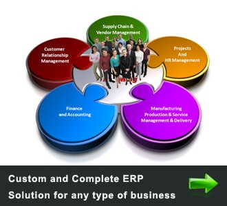 ERP Solutions for the business and small business