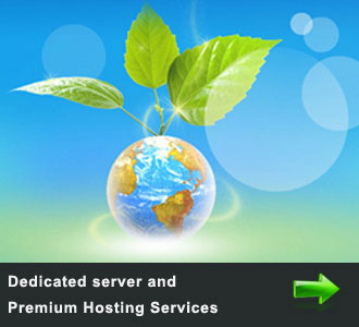 Premium Shared server, dedicated server and other custom Hosting supports