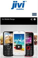 jivi mobile official Website, Web Design Services for Mobile Company, Digital media and SEO Services for Mobile brands