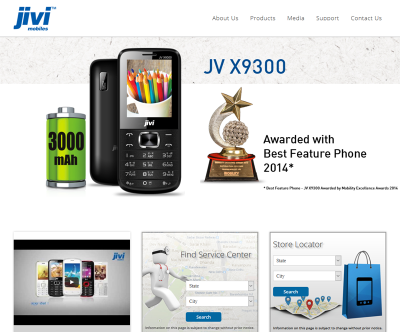Jivi Mobile, Web development Services, Corporate Web Solutions, Ecommerce Developmens